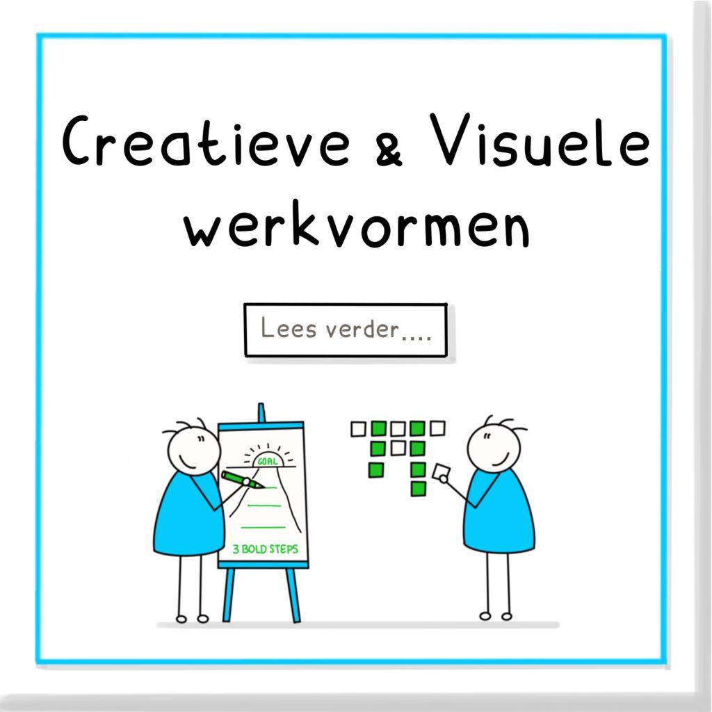 Creatieve en visuele werkvormen