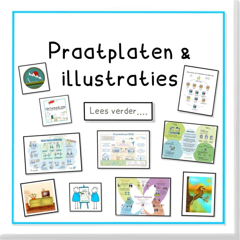 Praatplaten en illustraties