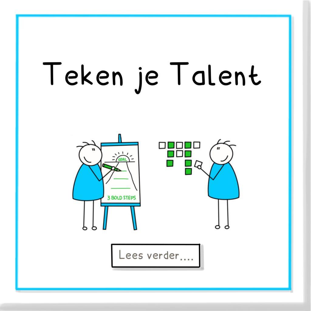 Teken je talent